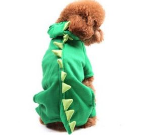 Alfie Couture Designer Pet Apparel - Franco Dinosaur Costume - 1