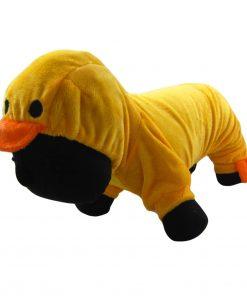 Alfie Couture Designer Pet Apparel - Dac Duckie Costume Jumper - Color: Orange - 1