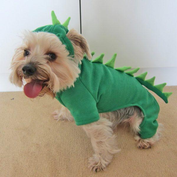 Alfie Couture Designer Pet Apparel - Franco Dinosaur Costume - 2