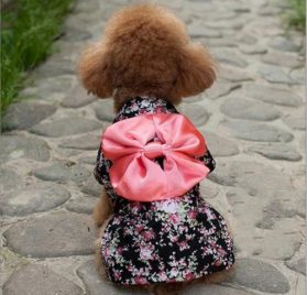 Dogloveit Japanese Kimono Style Costume Dog Clothes For Puppy Cat - 2