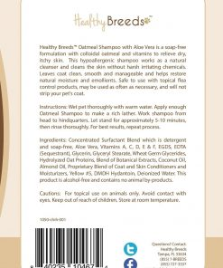 Healthy Breeds Oatmeal Shampoo with Aloe, Chihuahua / 16 oz. - 2