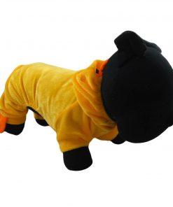 Alfie Couture Designer Pet Apparel - Dac Duckie Costume Jumper - Color: Orange - 3