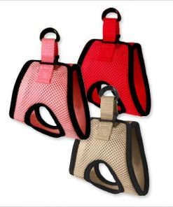 "Ultra USA Choke-Free Dog Harness - Scarlett Red - MD (16"" - 19"" girth) 2"