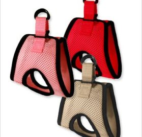 "Ultra USA Choke-Free Dog Harness - Scarlett Red - MD (16"" - 19"" girth) 2"