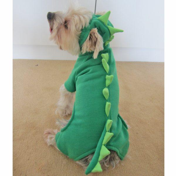 Alfie Couture Designer Pet Apparel - Franco Dinosaur Costume - 4