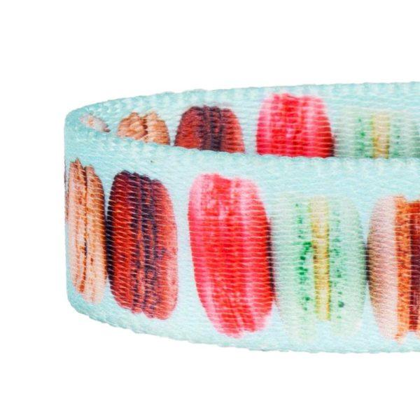 Macaroon Cake Pattern Dog Collar 4