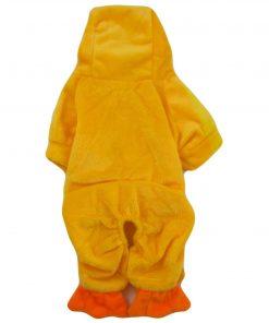 Alfie Couture Designer Pet Apparel - Dac Duckie Costume Jumper - Color: Orange - 6