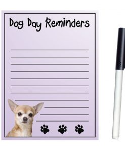 Imagine This Magnetic Dry Erase Board with Dog Day Reminders, Chihuahua