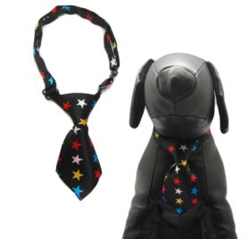 Qun Formal Dog Tie and Adjustable Collar 7