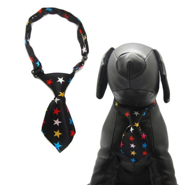 Qun Formal Dog Tie and Adjustable Collar 7
