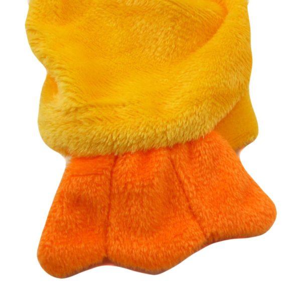 Alfie Couture Designer Pet Apparel - Dac Duckie Costume Jumper - Color: Orange - 7
