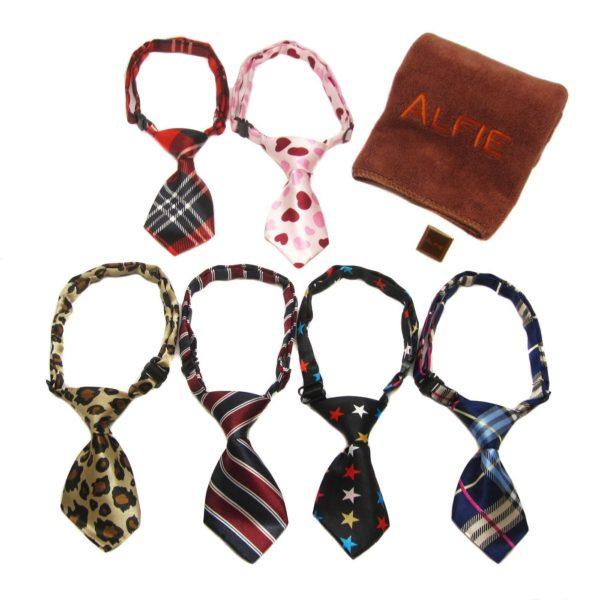 Qun Formal Dog Tie and Adjustable Collar