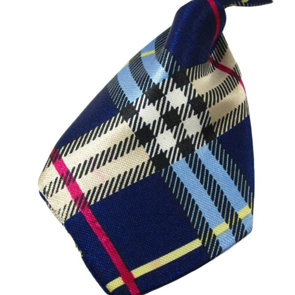 Alfie Pet by Petoga Couture - Qun Formal Dog Tie and Adjustable Collar Blue 3