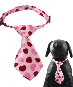 Alfie Pet by Petoga Couture - Qun Formal Dog Tie and Adjustable Collar Pink