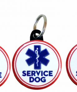 Henry the Buttonsmith Service Dog Tag Set