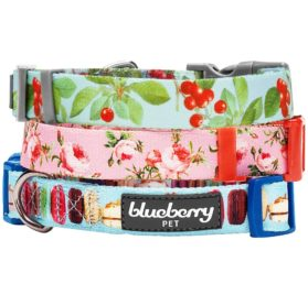 Macaroon Cake Pattern Dog Collar