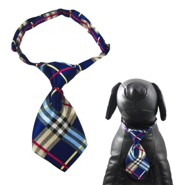 Qun Formal Dog Tie and Adjustable Collar 6