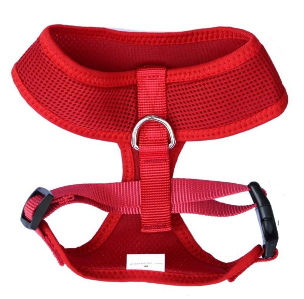 Reflective Mesh Soft Dog Harness 2