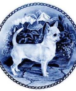 Chihuahua - Smooth Coat /- Lekven Design Dog Plate 19.5 cm /7.61 inches