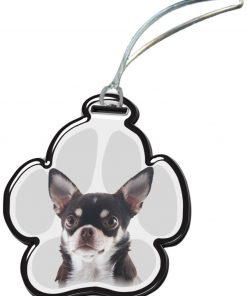 Got Yo Gifts Chihuahua ICU Acrylic Luggage Tag