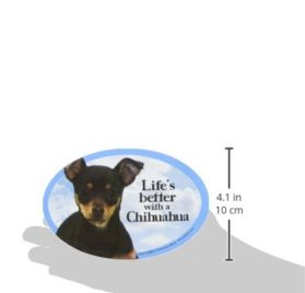 Prismatix Decal Cat and Dog Magnets, Chihuahua 2