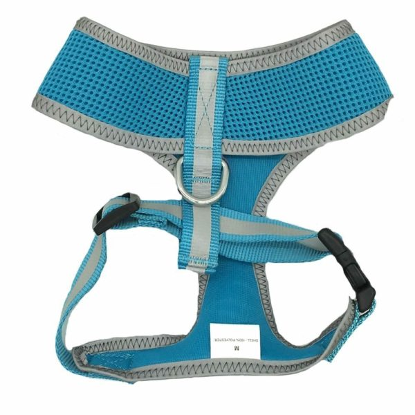 Reflective Mesh Soft Dog Harness Safe Harness No Pull Walking Pet Harnesses for Dogs 2