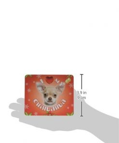 iLeesh I Love My Chihuahua Christmas Mouse Pad 2