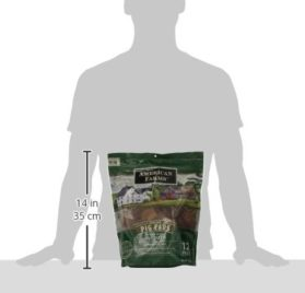 AMERICAN FARMS 481015 Natural Pig Ear Bagged for Pets, 23.04-Ounce 3