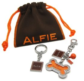 Alfie Pet by Petoga Couture - Jofie Keychain with Crystals Photo Frame Charm