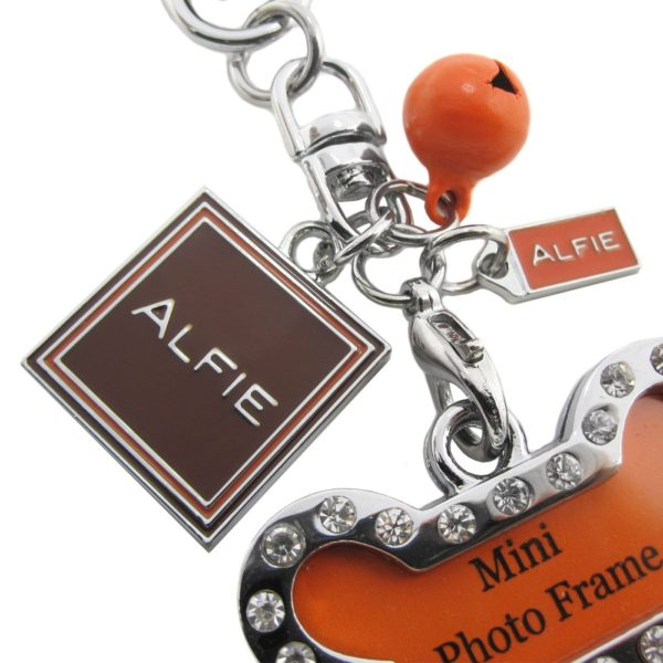 Alfie Pet by Petoga Couture - Jofie Keychain with Crystals Photo Frame Charm 5