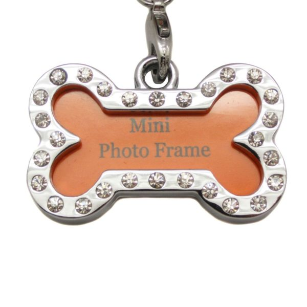 Alfie Pet by Petoga Couture - Jofie Keychain with Crystals Photo Frame Charm 7