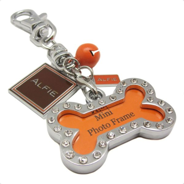 Alfie Pet by Petoga Couture - Jofie Keychain with Crystals Photo Frame Charm 9