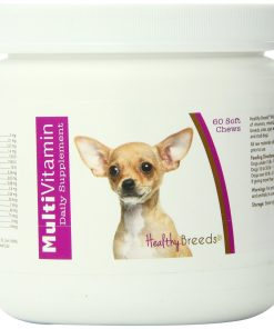 Healthy Breeds Multi-Vitamin Soft Chews, Chihuahua 60 Count