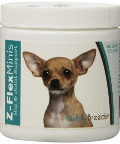 Healthy Breeds Z-Flex Minis Hip and Joint Support Soft Chews, Chihuahua 60 Count