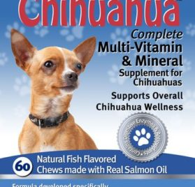 My Healthy Chihuahua Gluten Free Multivitamin and Mineral Supplement - 60 Fish Flavored Chews 2