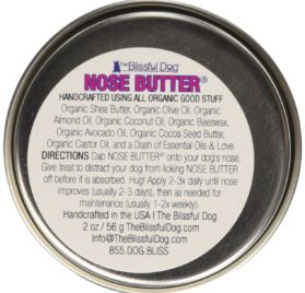 The Blissful Dog Long Coat Chihuahua Nose Butter, 2-Ounce 2