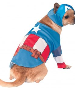 Captain America Halloween Dog Costume