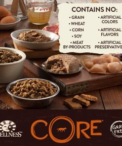 Wellness CORE Natural Grain Free Wet Canned Dog Food, 6-Ounce Can (Pack of 24) 2