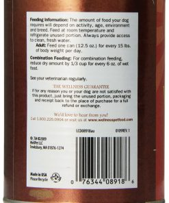 Wellness Complete Health Natural Wet Canned Dog Food, Senior Health Chicken & Sweet Potato Recipe, 12.5-Ounce Can (Value Pack of 12) 2