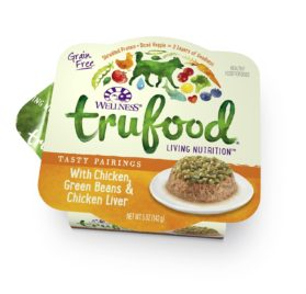 Wellness TruFood Tasty Pairings Natural Grain Free Wet Dog Food, Chicken, Green Beans & Chicken Liver Recipe, 5-Ounce Can (Value Pack of 24)