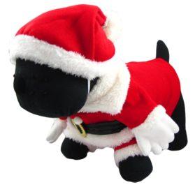 Alfie Couture Designer Pet Apparel - Christmas Santa Claus Suit Costume - Color Red 2