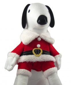 Alfie Couture Designer Pet Apparel - Christmas Santa Claus Suit Costume - Color Red