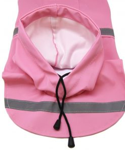 Alfie Pet by Petoga Couture - Pluvia Rainy Days Waterproof Raincoat (for Dogs and Cats) - Color Pink, Size XXS 5