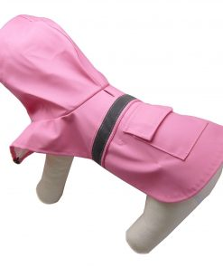 Alfie Pet by Petoga Couture - Pluvia Rainy Days Waterproof Raincoat (for Dogs and Cats) - Color Pink, Size XXS 8