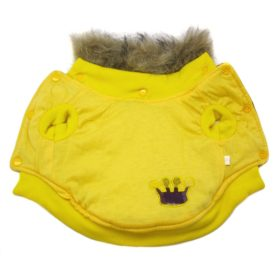 Alfie Pet by Petoga Couture - Presley Revisible Jacket - Color Yellow 2