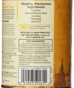 Eagle Pack Natural Wet Canned Dog Food, Chicken Formula, 13.2-Ounce Can (Value Pack of 12) 2