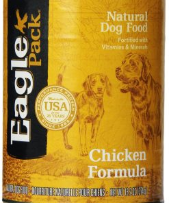 Eagle Pack Natural Wet Canned Dog Food, Chicken Formula, 13.2-Ounce Can (Value Pack of 12)