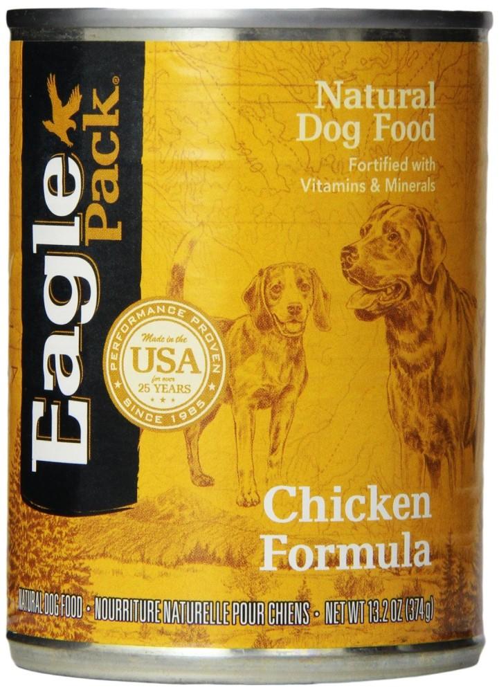 Eagle Pack Natural Wet Canned Dog Food, Chicken Formula ...