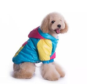 Goliton® Hot selling small Medium cat dog Waterproof, windproof color matching clothing jacket for Winter cheap pet products cute dog clothes teddy pug pitbull Poodle Chihuahua small dogs, etc