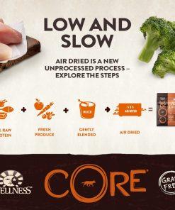 Wellness CORE Air Dried Natural Grain Free Dry Dog Food, Original Turkey & Chicken Recipe, 2-Pound Bag 2